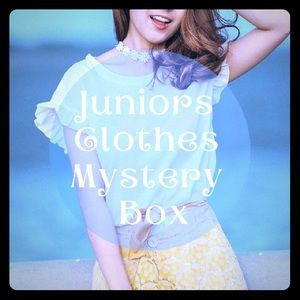 Tops - Mystery Box of Juniors Size Clothes